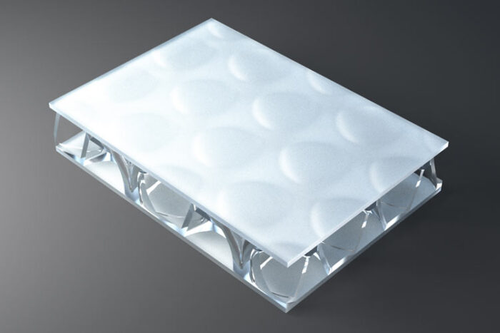 clear pep UV Satin Opal
